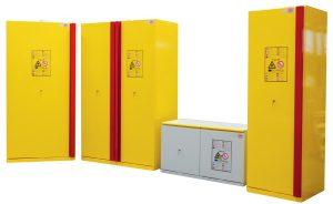 stockage produits dangereux armoires de securite