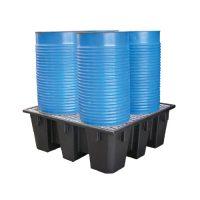 Bac polyéthylène recyclé 4 fûts 450 L