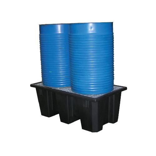 bac en polyéthylène recyclé