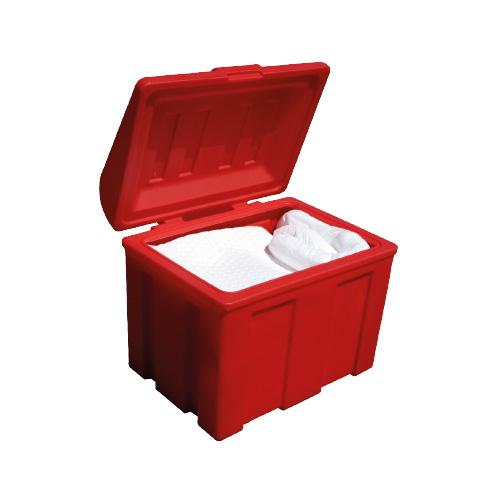 coffre polyéthylène 110 L rouge