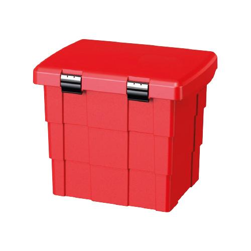coffre à sel et sable 110 L rouge