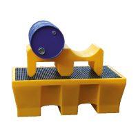 Support de fûts en polyéthylène : 2 fûts 60 L