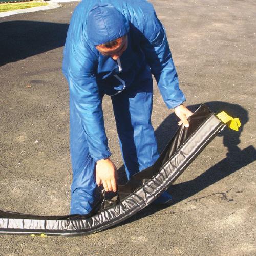 Barrage de sol souple réutilisable