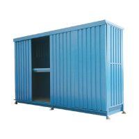 Entrepôt de stockage avec rétention