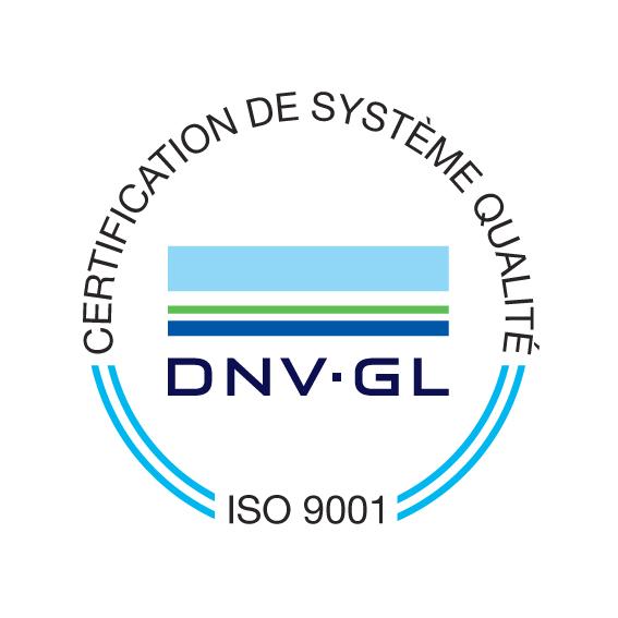 ISO9001 certificat qualité eurosorb