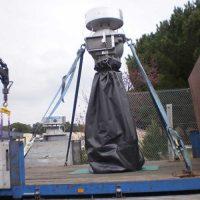 Bac-housse pour transport des transformateurs