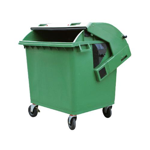 Conteneur dechets poubelles