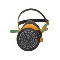 Demi-masque respiratoire réutilisable