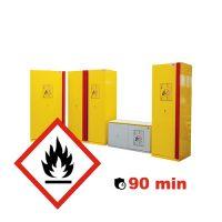 Armoire pour produits inflammables 90 min