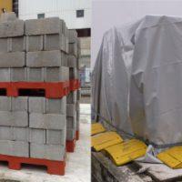 Housses de protection matériel de chantier