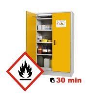 Armoire pour produits inflammables 30 min