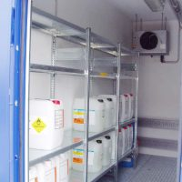 Accessoires/équipements conteneur coupe-feu BLS EI90