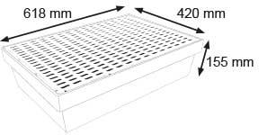 Dimensions de BACLAB30LPE