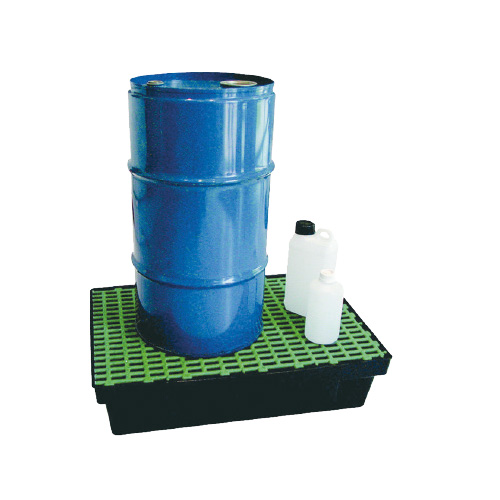 Bac polyéthylène 30 litres caillebotis PE