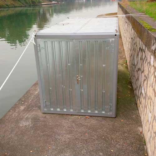 Container en acier