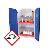 Armoires en PE pour produits corrosifs
