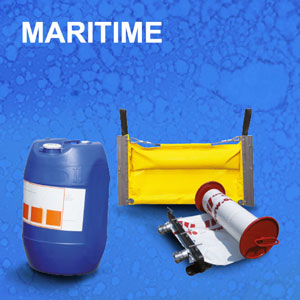 Eurosorb gamme maritime barrages dispersant