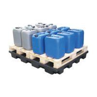 Plate-forme de rétention en polyéthylène recyclé 240 L